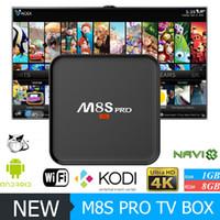 New M8S PRO Android TV Box Amlogic S905X Android 6. 0 KODI Fu...