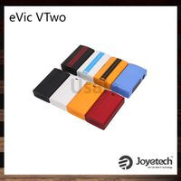 Joyetech EVIC VTwo 80W TC Mod 5000mAh Batterie Extensible Firmware et Dual Protection Batterie horloge temps réel Applied RTC 100% Original