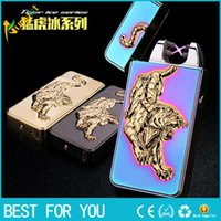 Usb charge arc lighter as birthday gift male personality ele...