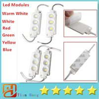 20pcs Injection ABS Plastic 5630 SMD Led Modules 3Leds 1. 5W ...