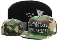Cayler & Sons Snapback Caps C&S WL BROOKLYN SOLDIER CAP WL- C...