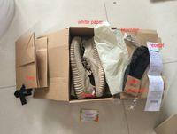 kamatiti boost 350 shoes gift(hat+ sock+ keychian)Pirate Black...