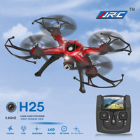 JJRC H25G 5.8G FPV 2.4GHz 4CH 6 axes Gyro 2.0MP caméra HD RC Quadcopter avec un touche Mode CF Retour 360 Fonction Eversion + 2 + Z