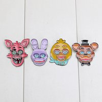 10sets lot Five Nights at Freddy brooch FNAF Badges Freddy B...