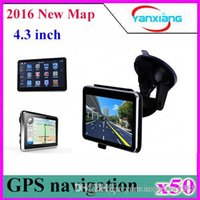 50pcs 4. 3 Inch CAR GPS Navigator MTK Free Maps+ FM MP3 MP4 Pl...