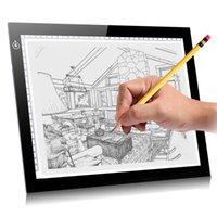 Мини USB Ультра Painting Планшеты Тонкие светодиодные светодиодные Pad графический планшет Анимация Стол Drawing Pad Light Box накладка трафарета доска # 07