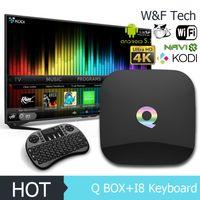 Q- Box Android 5. 1 Smart TV BOX Amlogic s905 Streaming Media ...