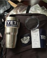 Yeti 30 oz Cups Cooler YETI Rambler Tumbler Travel Vehicle B...
