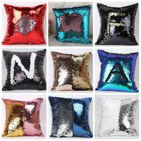 Sequins Pillow Case Sequin Pillowslip 2 Tone Color Sofa Pear...
