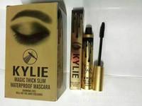Envío Mascara Kylie Kylie magia grueso delgado del rimel a prueba de agua Negro! 12g directo de fábrica de DHL