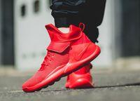 High Top Sneaker for Men Womens Kwazi Wmns Red October Runni...