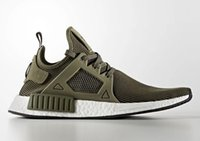 Olive Green NMD XR1 Primeknits Men and Women Sneakers Wine R...
