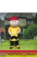 MALL105 Cartoon Character Charlie Brown Custom Mascot Costum...