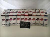 Kylie Lip Gloss Rouge à lèvres Boxset 1 Rouge à lèvres + 1 Lipliner Matte kylie jenner Rouge à lèvres 19 couleurs mordre d'amour sucre de pêche sale sucre brun