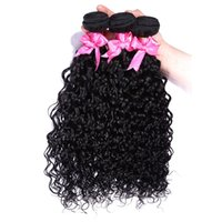 Unprocessed Wet And Wavy Human Hair Weave Virgin Brazilian H...
