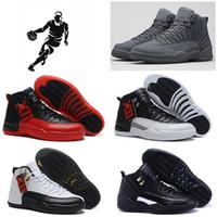2016 high quality retro 12 Mens Basketball Shoes Flu Game OV...