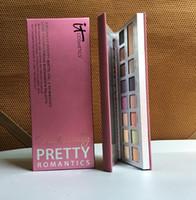 Le plus récent Cosmétique Eyeshadow il palette de cosmétiques Naturellement Jolie romantique 15 maquillage de couleur ombre à paupières Livraison gratuite de DHL