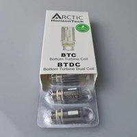 Horizon Arctic BTC Bobinas de BTDC 0.2 0.5ohm Cabeza de la bobina para el cristal ártico de Pyrex Depósito de Clearquest de Subtank Arctic Subtank Atomizer