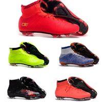 2016 cheap original soccer cleats Mens 4 FG Kids Soccer Shoe...