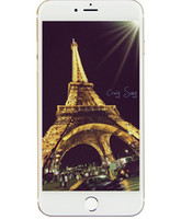 Jet Black 256GB 128GB Goophone i7 Plus 1: 1 клон 3G WCDMA Quad Core MTK6580 1GB 4GB Android 6.0 5.5inch IPS 960 * 540 HD 8MP камера смартфона