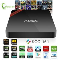 Android TV Box A95X Amlogic S905X Quad Core 2GB+ 8GB 2. 4G And...