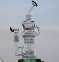Le plus récent Klein Recycler robinet de vapeur scientifique bong phonix verre bong pipe à eau Bong à impulsion BIO bulle de verre verre waterpipe barrel incycler