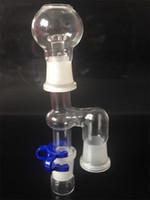 Catcher verre Percolateur Reclaim Catcher 18mm Ash pour Bongs et Pipes en verre Reclaim Ash Catcher Adapter Sets de fumer
