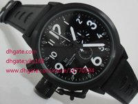 whole mens left handed watches buy cheap mens left handed top quality mens flightdeck black 55mm left hand wind swiss quartz stainless steel chronograph watch men s watches