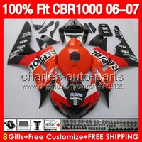 8gifts 100% Injection Mold For HONDA CBR1000RR 06 07 CBR 100...