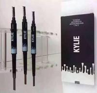 Waterproof Kylie Eyebrow Pencil Enhancer Brush Auto Long Las...