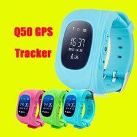Q50 GPS Tracker pour enfants Kid smart Regarder SOS Safe Appel Location Finder Locator Trackers smartwatch pour DHL Enfants Enfants OTH240 gratuit