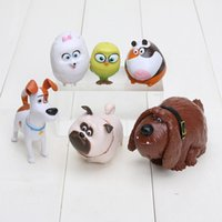 The secret life of pets 6 Styles Max Chloe Snowball Bulldog ...