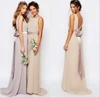 2016 Дешевые вечерние платья длинные шифоновые для венчания партии плюс размер выпускного платья под 50 для женщин девочек