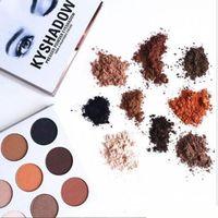 2016 New Kylie Cosmetics Bronze Eyeshadow KyShadow Palette k...