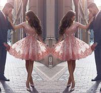 2017 Новый Said Mhamad шнурка Homecoming платье плеча v шеи короткий коктейль платья партии для девочек арабской Сладкие Выпускные платья