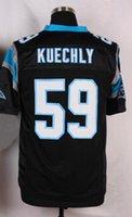 NIK Elite Football Stitched #59 KUECHLY Football Jerseys New...