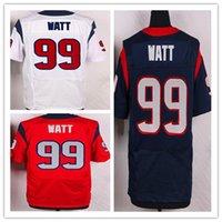 2016 Elite Football Jerseys Sportswear 99 JJ Watt 10 Hopkins...