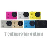 Mini DV Action Camera A7 SJ4000 HD 720P Sport 2po Caméra LCD 90 degrés Grand Angle 30M étanche D2369 Mini Caméscopes