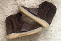 Boost 750 Grilleg Chocolate Translucent PU outsole Brown Sue...