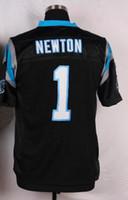 Best quality Carolina football Jerseys Men' s 1 Cam Newt...