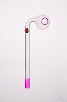 Tuyau en verre coloré image réelle Tuyauterie fumée tuyaux courbés Mini nouvelle arrivée tuyaux de fumée Meilleur brûleur à mazout