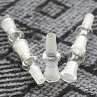 bong adaptateur de verre gros 14 mâle à 14 femelle commune 14.4mm de 18.8mm pour bong en verre