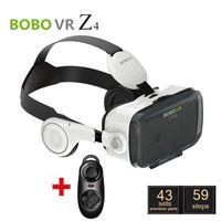 DHL BOBOVR Xiaozhai Z4 Lunettes 3D VR Lunettes 3D Reality Virtuel Vidéo Binocular Immersive 3D Movie avec casque + Bluetooth Controller