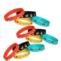 Poke pokémon go Silicone Bracelets toys 4 color Children Pok...