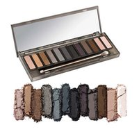 Nude 12 colors eyeshadow smoky Eyeshadow Palette Best Qualit...
