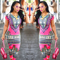 2017 Nova chegada Africano Dashiki Vestuário design de moda ternos Java Tela de impressão de cera e Calças Ternos 2 peças Set Fato vintage