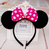 mouse ears headband hoop dance festival Children mickey and ...