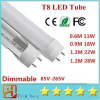 85- 265V Dimmable 4ft 1200mm T8 Led Tube Light High Super Bri...