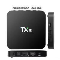 TX5 2GB 8GB TV BOX Amlogic S905X HD Fully KODI 16. 1 Android ...