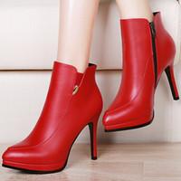 Quality Assurance Women Genuine Leather High Heels Brand Dre...